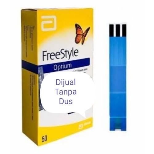 Foto Produk Refill Freestyle Optium isi 50 Strips dari Barady Shop