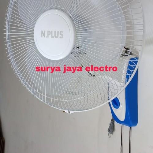 Foto Produk kipas angin dinding 16 inch / wall fan 16 TERMURAH PROMO HARGA PABRIK dari surya jaya electro