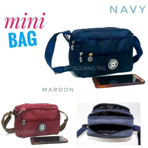 Foto Produk Tas selempang mini|tas wanita|tas fashion - Merah dari gudang tas 1000