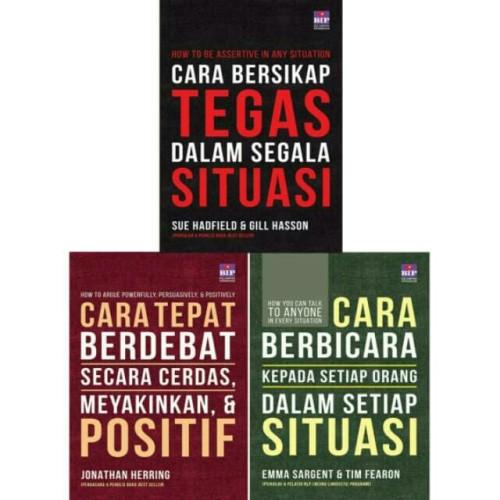 Foto Produk Set 3 Buku - Cara Bersikap Tegas, Cara Tepat Berdebat, Cara Berbicara dari Books_shop