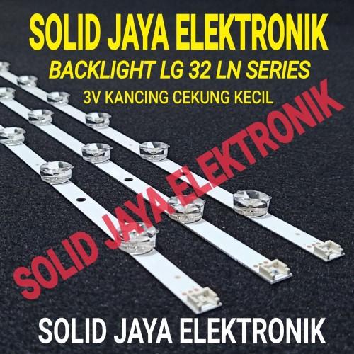 Foto Produk BACKLIGHT LG 32LN5100 32LN4900 32LN5400 32LN 32 LN LAMPU LG LED 3V BL dari Solid Jaya Elektronik