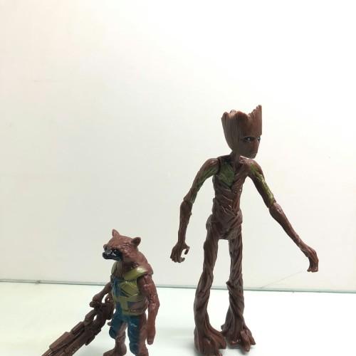 Foto Produk Mainan Action Figure Avengers Groot and Rockets Endgame dari toysmaniac