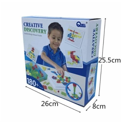 Foto Produk Mainan Edukasi Anak PUZZLE DRILL/OBENG - CREATIVE DISCOVERY dari lovely kayy