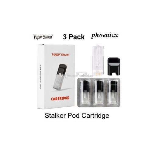 Foto Produk Replacment Catridge Pod Stalker Kit 1 pack isi 3 dari CGK VAPOR STATION