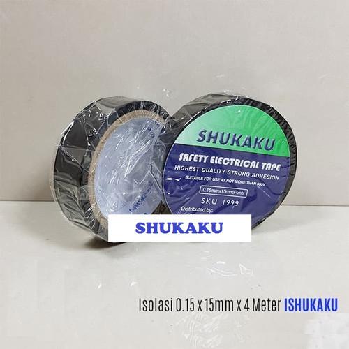 Foto Produk Nitto Isolasi Listrik/Kabel Hitam PVC Tape SHUKAKU dari Natz
