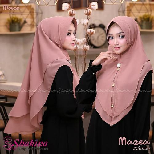 Foto Produk Fashion Muslim Jilbab Hijab Instan Khimar Mazea Khimar Syari Pesta dari Jilbab Pusat