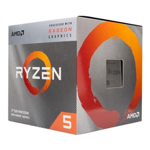 Foto Produk AMD Ryzen 5 3400G with Radeon RX Vega 11 Graphics dari distributorkomputer