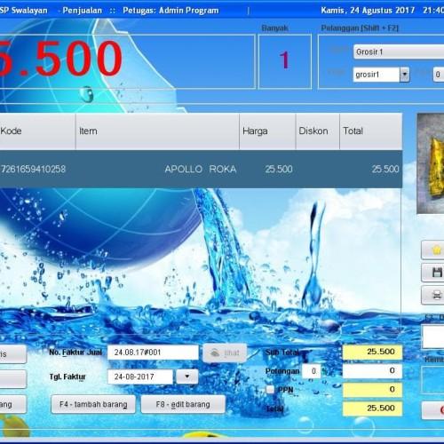 Foto Produk Paket Barcode Scanner With Stand & Software Solusi Toko 2.0 dari solusiprogramcom