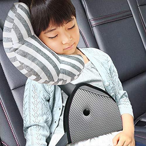 Foto Produk Kids Seat Safety Belt Cover Tambahan Penahan Sabuk Pengaman Mobil Anak - Merah dari lbagstore