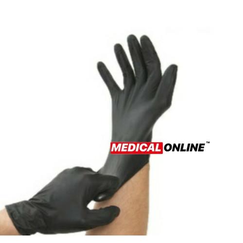 Foto Produk SARUNG TANGAN NITRILE HITAM / BLACK EDITION POWDER FREE SAFEGUARD dari Medical Online Indonesia