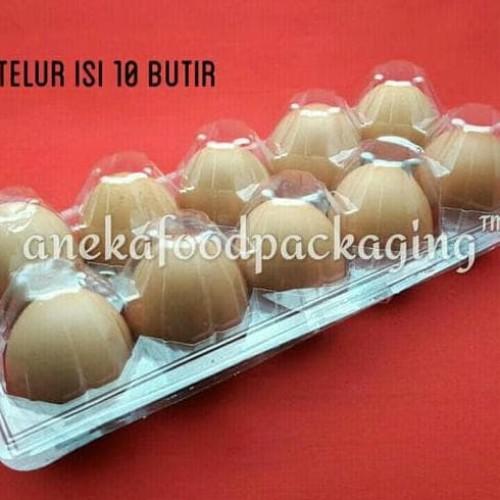 Foto Produk Mika/tray tempat telur/telor isi 10 butir dari bagio sastro
