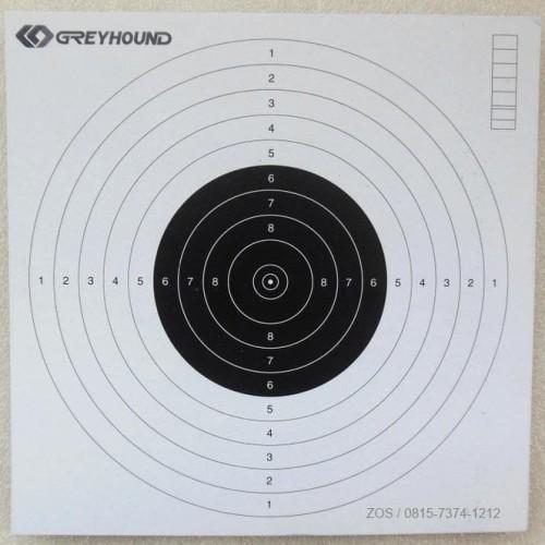 Foto Produk HOT SALE Shooting Paper Kertas Target Perbakin 17x17cm 25pcs Terjarmin dari dkarel15 shop