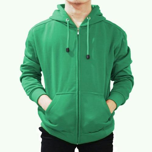 Foto Produk Best seller !! Jaket Sweater Polos Hoodie Zipper/Resleting Hijau Fuji - ZIPER HIJAUFUJI, M dari stuvco.sportswear