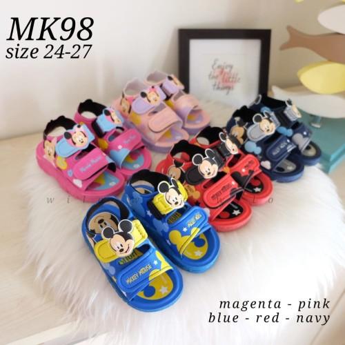 Foto Produk Sandal sepatu anak mickey mouse ori disney thailand - MK98 dari wilokity