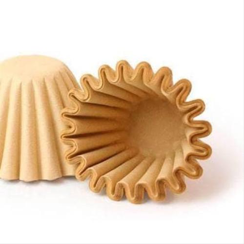 Foto Produk Paper Filter untuk Kalita Wave Filter 155 Brown Unbleached (25P) dari WATERGROUND COFFEE