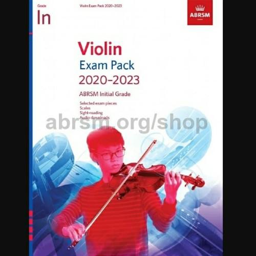 Foto Produk Violin Exam Pack 2020-2023 Initial Grade ABRSM Buku Ujian Biola dari WoodenBox
