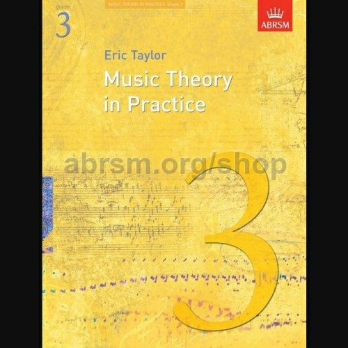 Foto Produk Music Theory in Practice Grade 3 ABRSM Buku Teori Musik Eric Taylor dari WoodenBox
