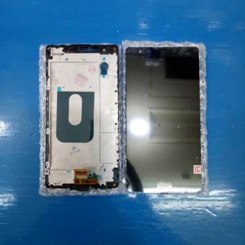 Foto Produk LCD TOUCHSCREEN FRAME LG K220 X POWER ORIGINAL dari king acc&sparepart hp
