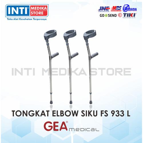 Foto Produk Tongkat Kaki Satu Elbow GEA FS 933 L / Tongkat Siku Elbow GEA FS 933 L dari INTI MEDIKA STORE