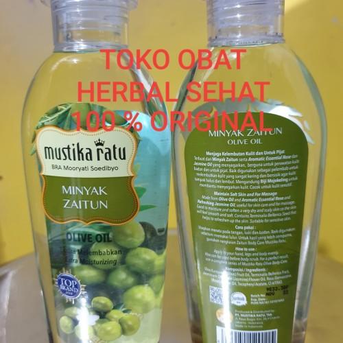 Foto Produk Minyak Zaitun Olive Oil Mustika Ratu dari Toko Obat Herbal Sehat
