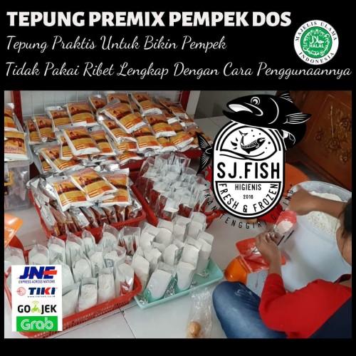 Foto Produk TEPUNG PEMPEK DOS dari IKAN TENGGIRI GILING SJ FISH CIBUBUR