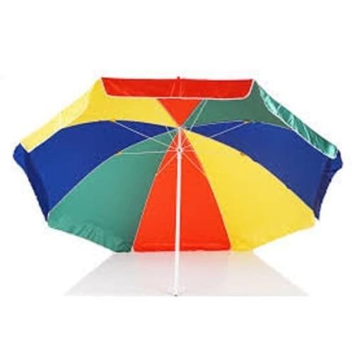 Foto Produk Payung Tenda Saito Pelangi Untuk Pedagang / Pantai Diameter 180 Cm dari Cahaya Abadi Household