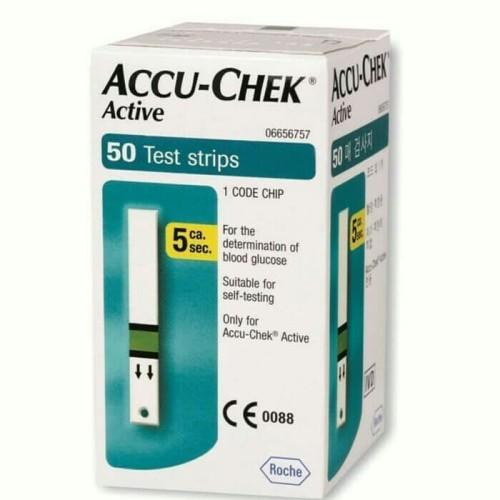 Foto Produk Strip Accucheck Active isi 50 / Strip Accu check Active dari sellmorethings