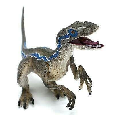Foto Produk Dinosaurus Jurassic Dino World Raptor Velociraptor Blue Park Figure dari Larizt Shop