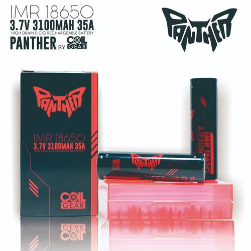 Foto Produk Authentic CoilGear Red Panther 18650 3100mAh 35A Batre Vape Vapor dari Vapeoi Cimahi