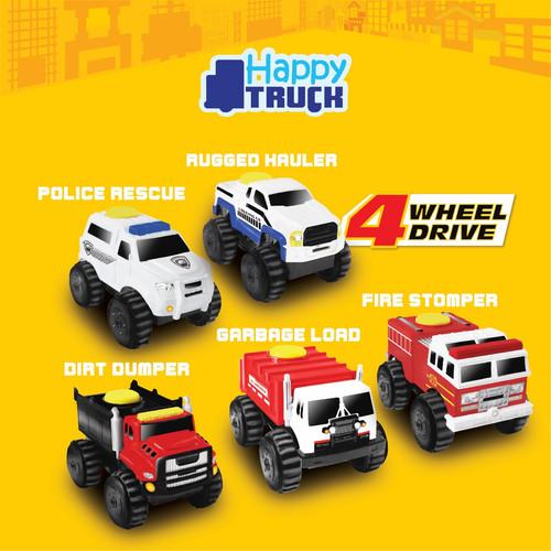 Foto Produk Happy Truck Mobil 4 Wheel Drive - Mainan Die Cast - Mainan Mobilan dari Acosta Official