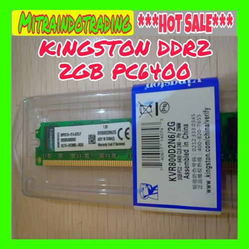 Foto Produk RAM PC KINGSTON DDR2 2GB PC 6400 dari Mitraindotrading