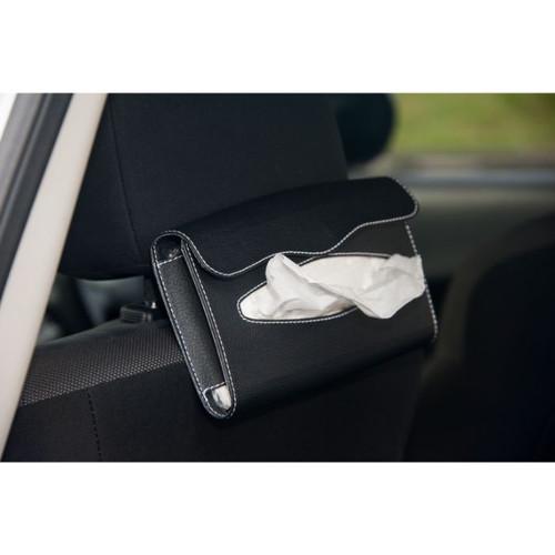 Foto Produk Tempat tissu mobil/Tempat tissue back seat mobil warna hitam dari Technozio