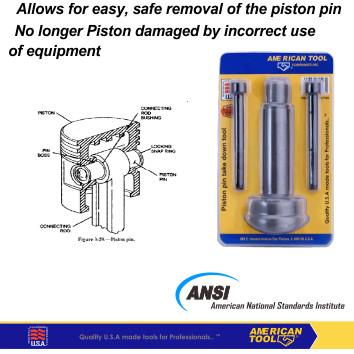 Foto Produk Pembuka Pin Piston / Piston Pin Take Down Tool American Tool 8957769 dari American Tool & Secure