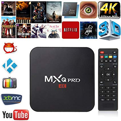 Foto Produk TV Box Android Smart MXQ 4K RK3229 1G/8G H.264/H.265, Keren Gan! dari my honey shop