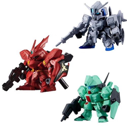 Foto Produk Gundam senshi forte 09 Sazabi set 3 figure dari Charu Toys