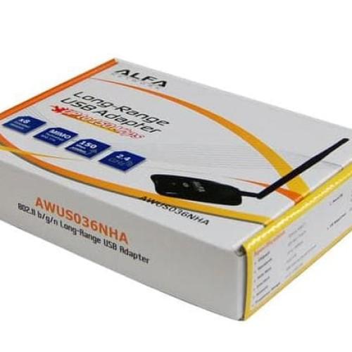 Foto Produk New ALFA AWUS036NHA, SENSITIF USB WIFI DGN CHIPSET ATHEROS dari Toko nataya03