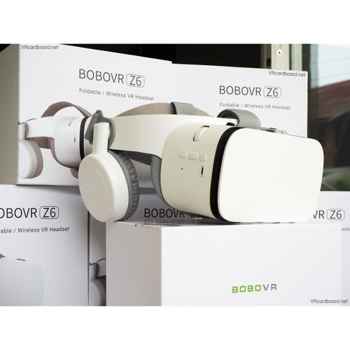 Foto Produk BOBOVR Z6 Virtual Reality VR Glass 3D Cardboard - Hitam dari bekasigame