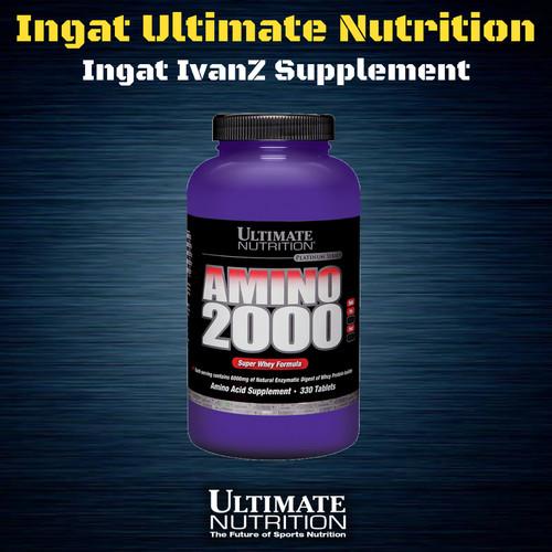 Foto Produk ULTIMATE NUTRITION AMINO 2000 330 TABS dari IvanZ Supplement