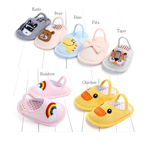 Foto Produk Sandal Bayi / Sandal Prewalkers Bayi Imut - Tiger dari M&K ( Mom & Kids)