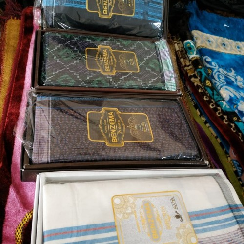 Foto Produk Sarung Tenun Songket Mewah Dewasa BYM78 dari Sajadah Muslim