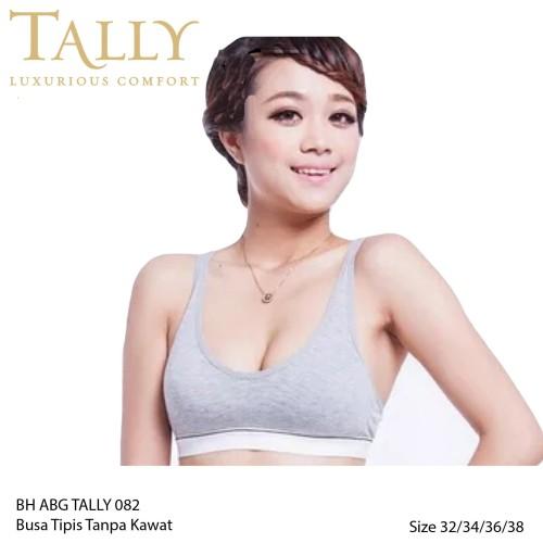 Foto Produk TALLY 082 Bra Remaja/ Bh ABG Tanpa Kawat- Original TALLY - Merah Muda, 34 dari Tally Official Store