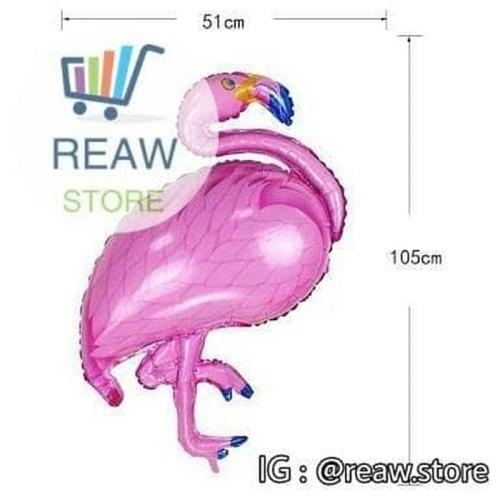 Foto Produk Balon Foil Burung Flamingo / Flamingo Bird dari SRI RATU