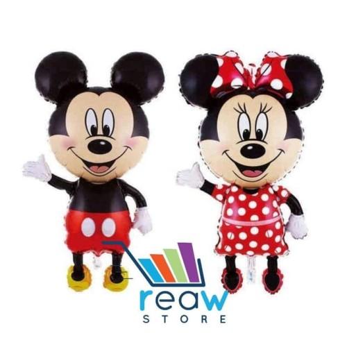 Foto Produk Balon Foil Mickey & Minnie Full Body Jumbo dari SRI RATU