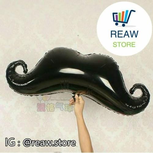 Foto Produk Balon Foil Kumis / Mustache dari SRI RATU
