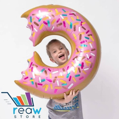 Foto Produk Balon Foil Donat / Doughnut dari SRI RATU