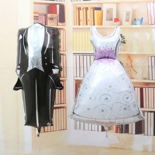 Foto Produk Balon Foil Pengantin / Bride & Groom Bride Set dari SRI RATU
