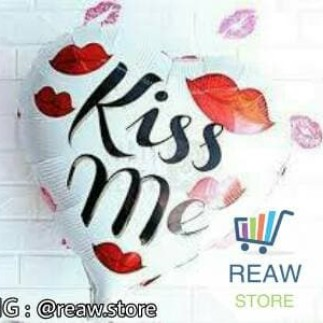 Foto Produk Balon Foil Love Kiss Me dari SRI RATU