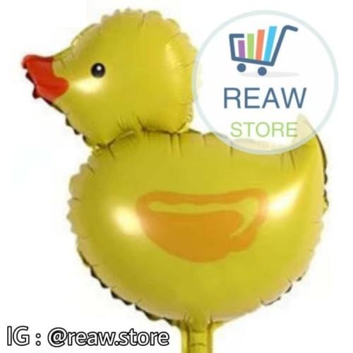 Foto Produk Balon Foil Animal / Hewan / Binatang Bebek / Duck (40cm) dari SRI RATU