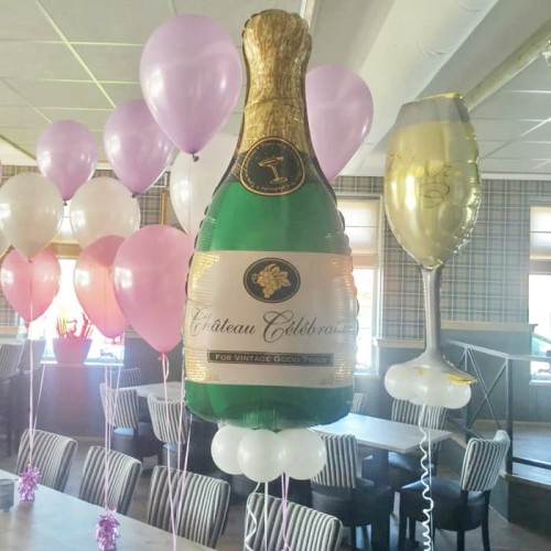 Foto Produk Balon Foil Wine & Glass Big Size dari SRI RATU