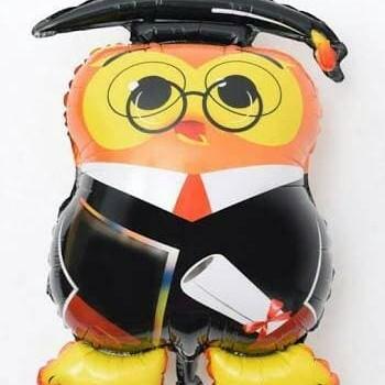 Foto Produk Balon Foil Graduation Owl / Burung Hantu dari SRI RATU